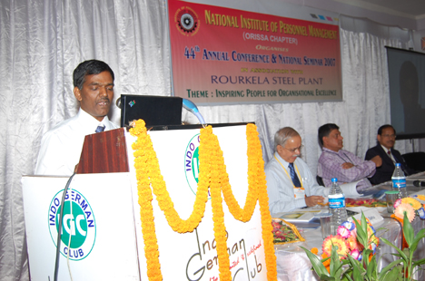 Speaking in National seminar 2007