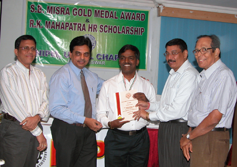 Shyamabandhoo Mishra Gold for Excellence in HR Award